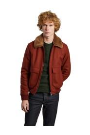 Virgin wool aviator jacket