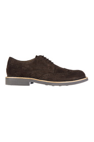 men's classic suede lace up laced formal shoes derby