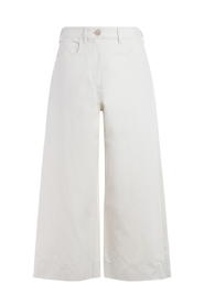 Cotton coulotte trousers