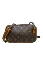 Pre-owned Monogram Marly Bandouliere Canvas