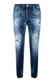 Distressed-Effect Skinny Jeans
