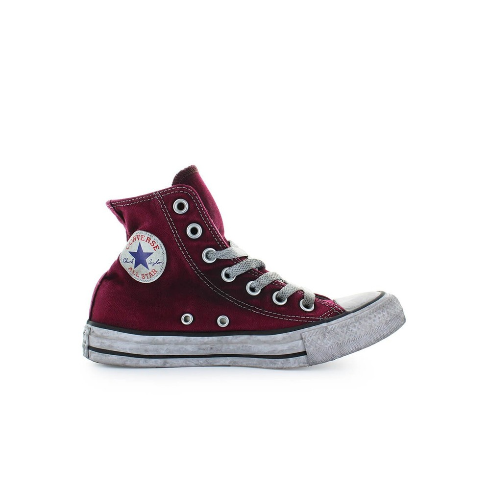 HIGH CANVAS MAROON CHUCK TAYLOR SNEAKER LTD ED