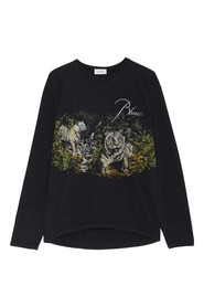 Long Sleeves Lion T-shirt