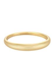 Golden Petit Dome Ring