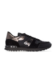 "Metalllic Camouflage ""Rockrunner"" Sneaker"
