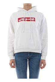 LEVIS 69639 GRAPHIC UNBASIC SWEATER Women WHITE