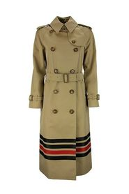 Stripe Detail  Gabardine Trench Coat WATERLOO