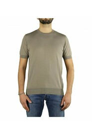 CREW NECK JUMPER WITH SHORT SLEEVE